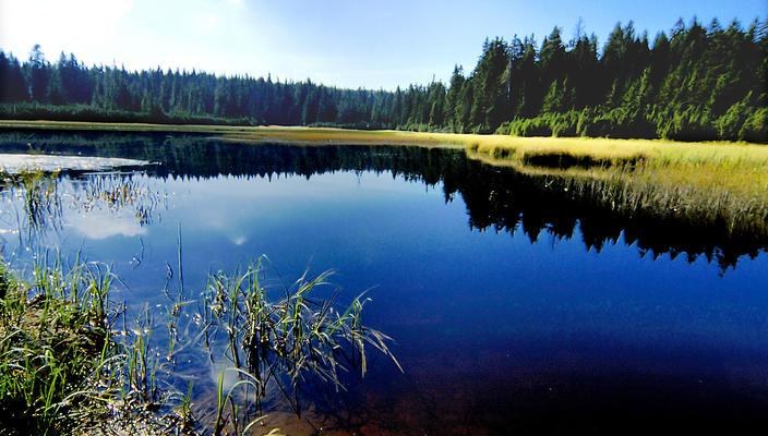 Črno jezero lake on Pohorje